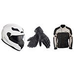 location casque gants veste moto