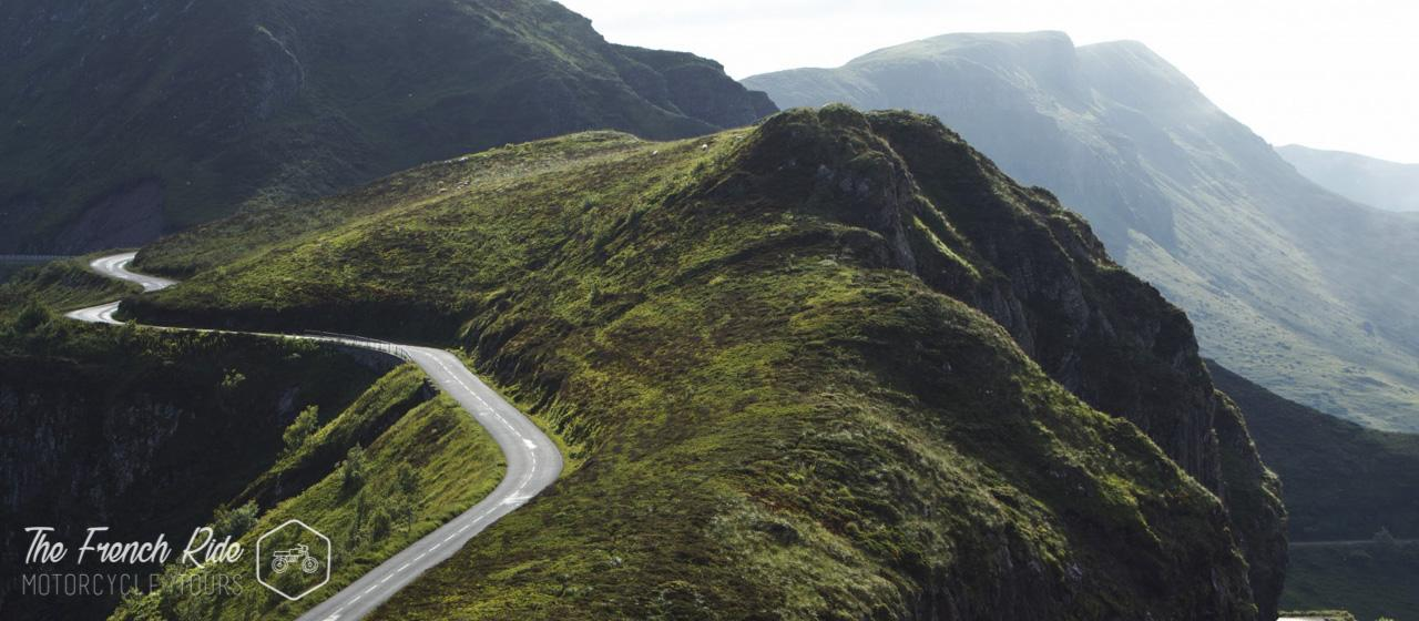 guided and self-guided motorcycle tours and rental in the alps, france, switzerland, italy, spain and europe. Motorbike road trip in the Pyrenees.