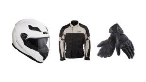 motorbike equipment and gear rental in france