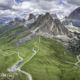 voyage moto dans les dolomites en italie
