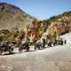 balade moto en groupe dans les Alpes