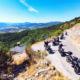 balade moto sur la route napoleon