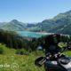 itinéraire moto en suisse et italie