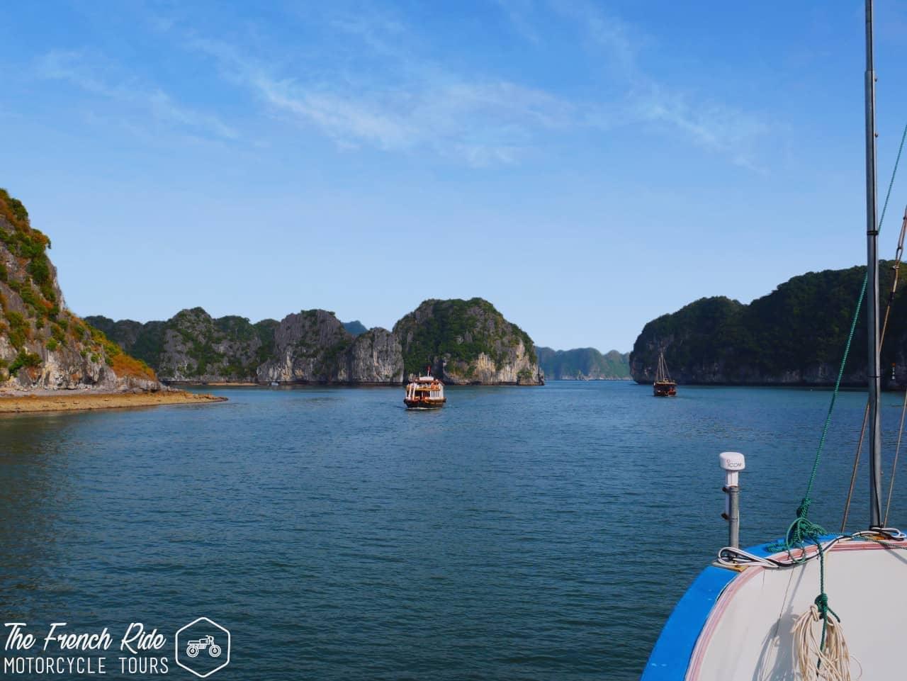 voyage organisé à moto au vietnam et baie d'halong