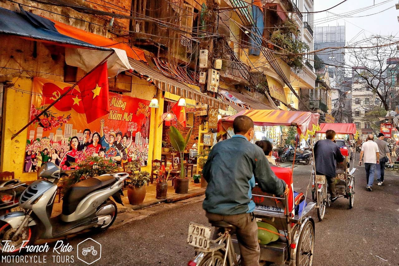 voyage moto à hanoi