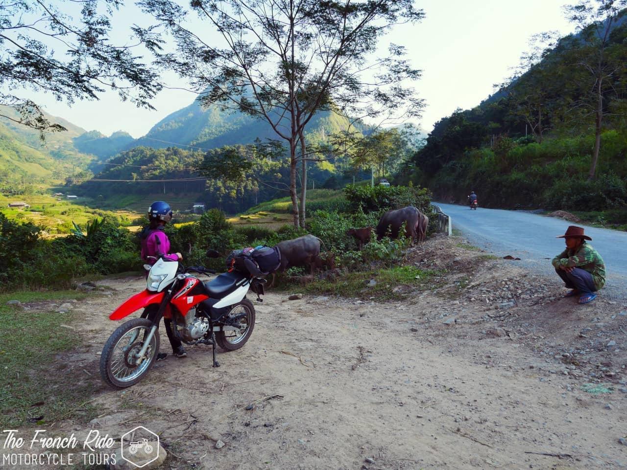 voyage moto au vietnam du nord