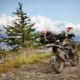 balade moto trail dans les alpes