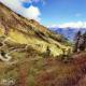 balade moto trail dans le piémont